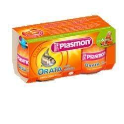 PLASMON OMOGENEIZZATO ORATA 2 VASETTI DA 80 GR