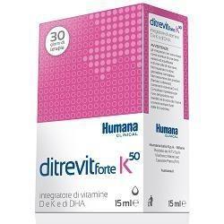 DITREVIT FORTE K50 INTEGRATORE ALIMENTARE FLACONE DA 15 ML