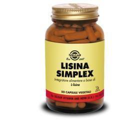 LISINA SIMPLEX 50CPS VEGETALI