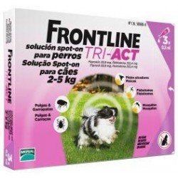 FRONTLINE TRI-ACT 3PIPET 0,5ML