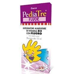 PEDIATRE FLUOR VITAMINA D3 GOCCE 7 ML