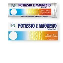 Bracco POTASSIO e MAGNESIO 12 compresse effervescenti