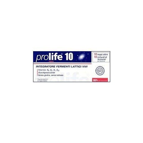 PROLIFE 10 FORTE 7FLACONCINI DA 8ML